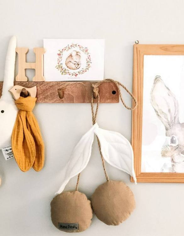 A perfect addition to a children's room or a newborn's corner, the Cherry Pendant Beige fits into any interior. This gorgeous nursery pendant would make a perfect hanging decoration to add a splash of colour to any room.