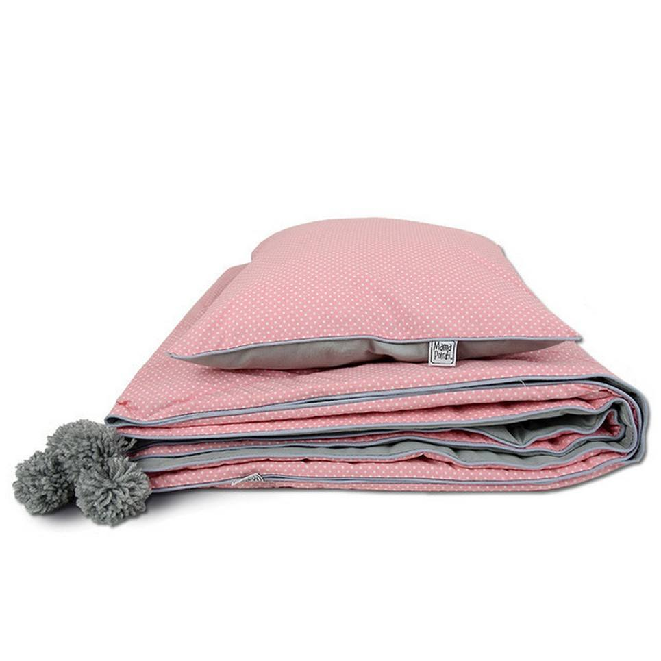 Coral Children's Bed Throw