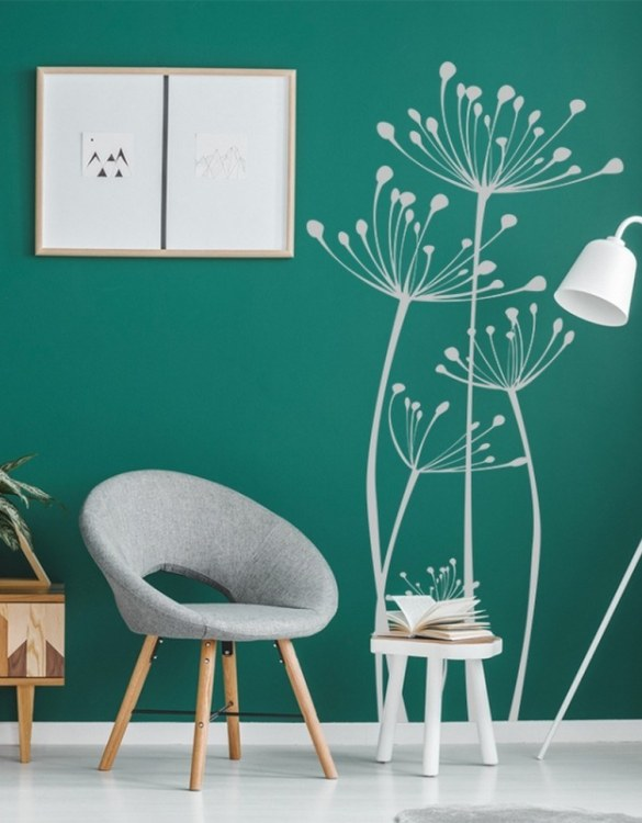 A beautiful scene for children's rooms and nurseries, the Dandelions Children's Wall Sticker is the perfect addition to any empty space (like walls or furniture). These wall stickers provide a flexible and cost-effective way to decorate your home.