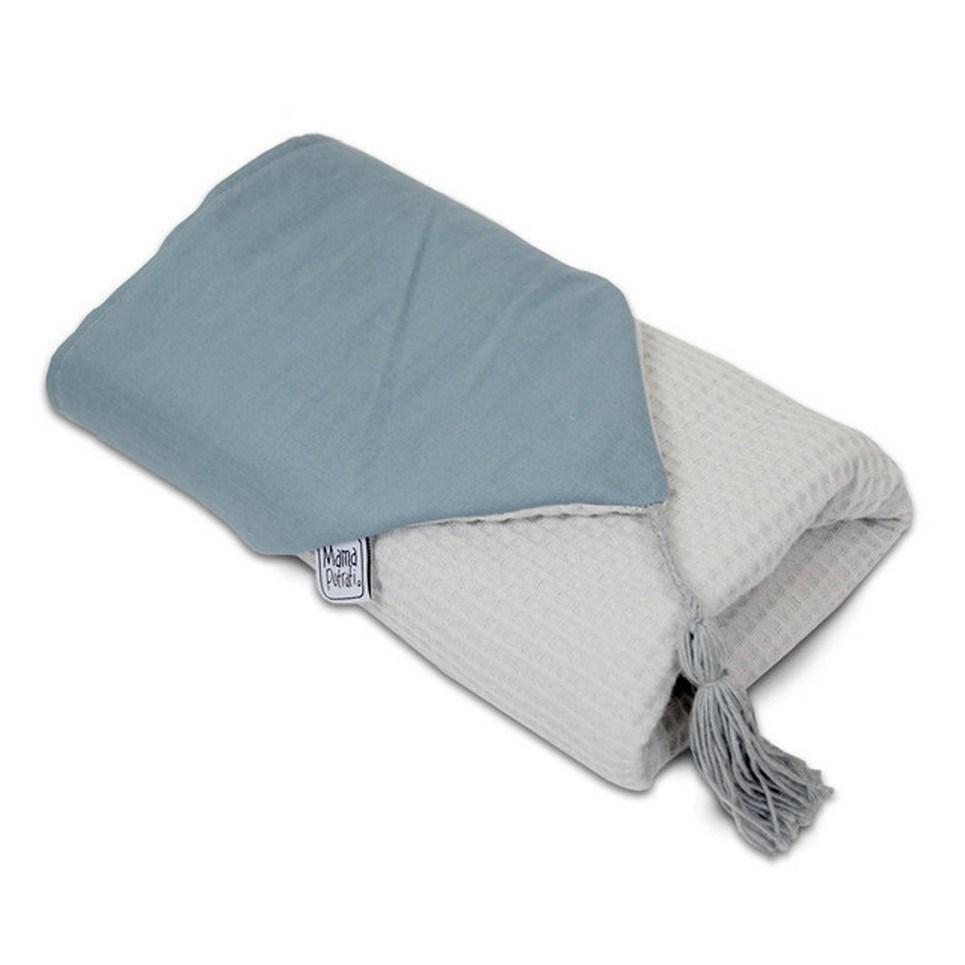 Hooded Towel Scandi Blue