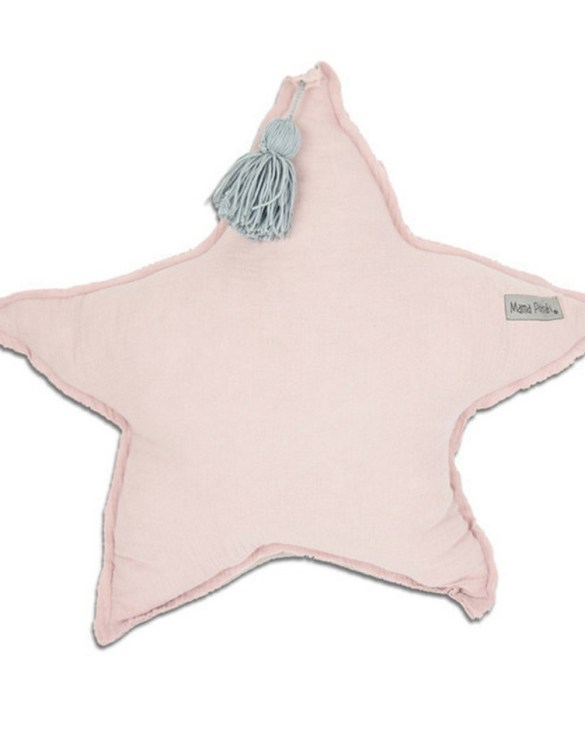 Perfect for any little one or teenager's bedroom, the Muslin Pillow Candy is great for finishing up your little one's playroom. Your kids will love it! This children's cushion is super soft and super cute. A beautiful addition to any nursery or kids' room.