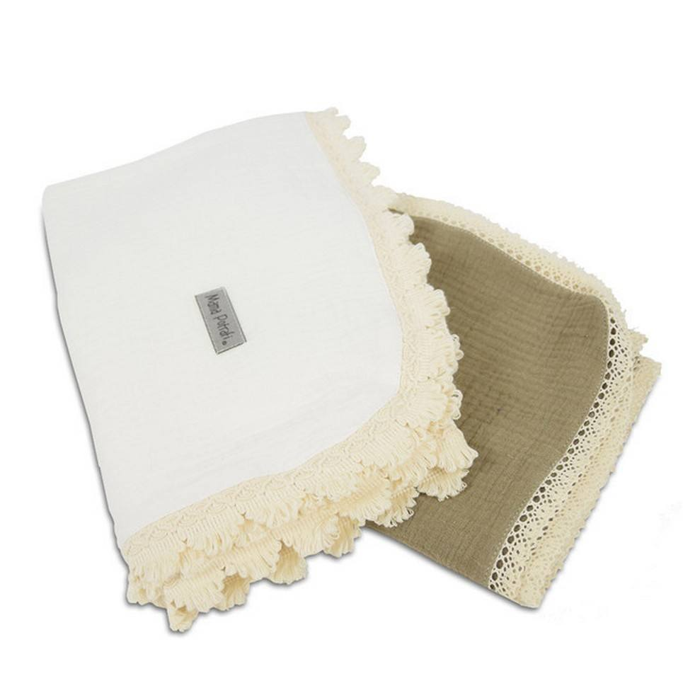 Muslin Swaddle 2 Pack Sand
