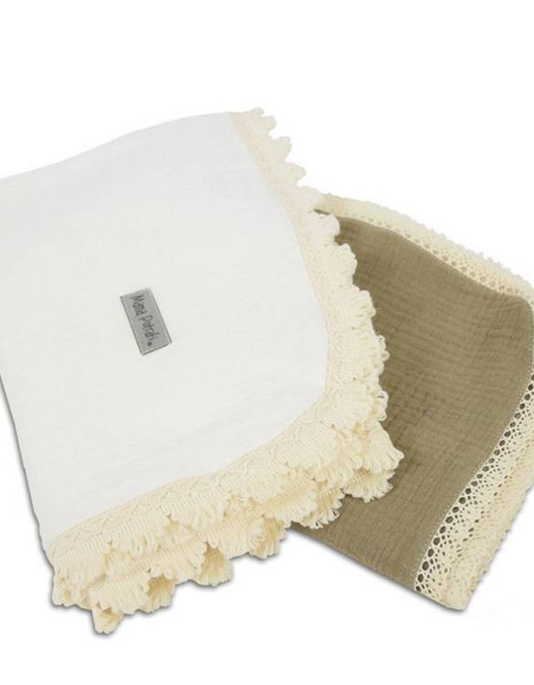 A versatile item with a multitude of uses, the Muslin Swaddle 2 Pack Sand will be your little one's favorite blanket. And it's looking very beautiful and stylish! This baby swaddle muslin blanket is a perfect gift for an expecting mama!