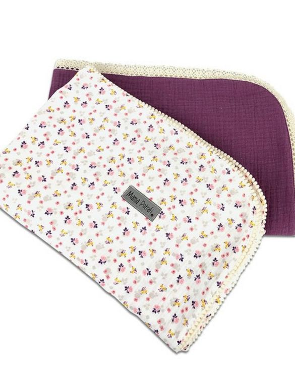 A versatile item with a multitude of uses, the Muslin Swaddle 2 Pack Summer Garden will be your little one's favorite blanket. And it's looking very beautiful and stylish! This baby swaddle muslin blanket is a perfect gift for an expecting mama!