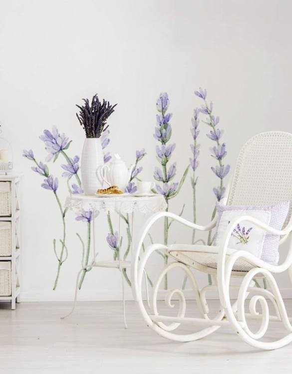 A beautiful scene for children's rooms and nurseries, the Natura Lavender Children's Wall Sticker is the perfect addition to any empty space (like walls or furniture). These wall stickers provide a flexible and cost-effective way to decorate your home.