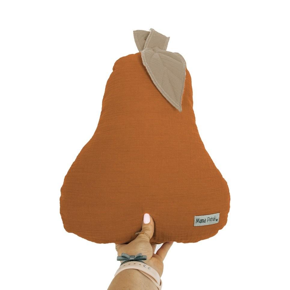 Pear-shaped Pillow Caramel