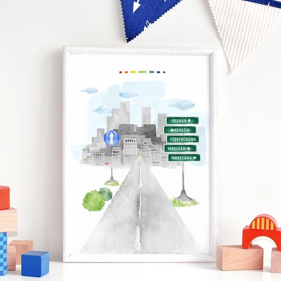 Road Children's Poster