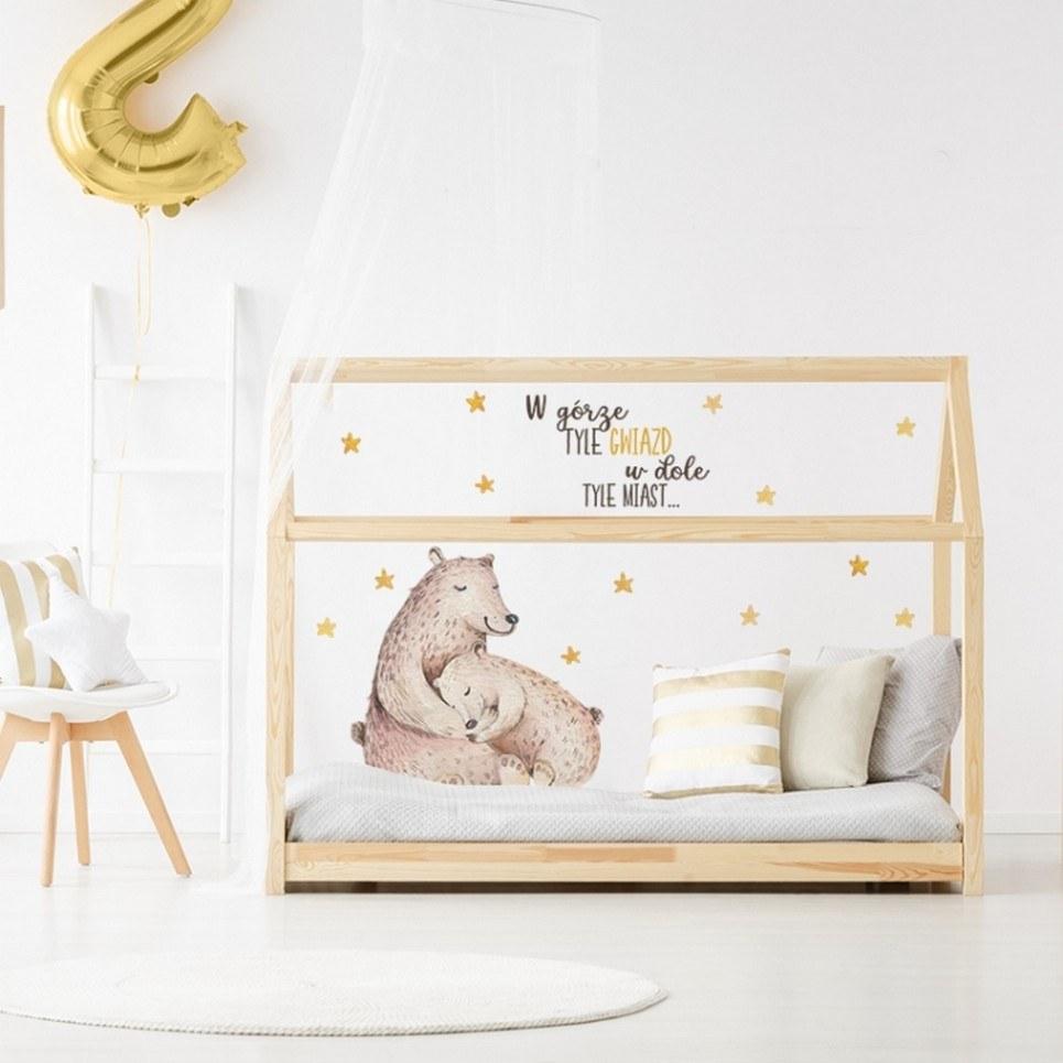 Sleeping Bears Children's Wall Sticker