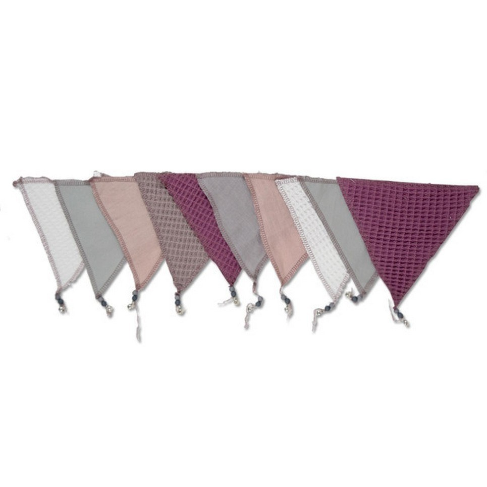 Triangle Bunting Blueberry