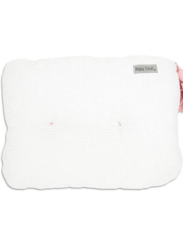 Perfect for any little one or teenager's bedroom, the Waffle White Pillow is great for finishing up your little one's playroom. Your kids will love it! This children's cushion is super soft and super cute. A beautiful addition to any nursery or kids' room.