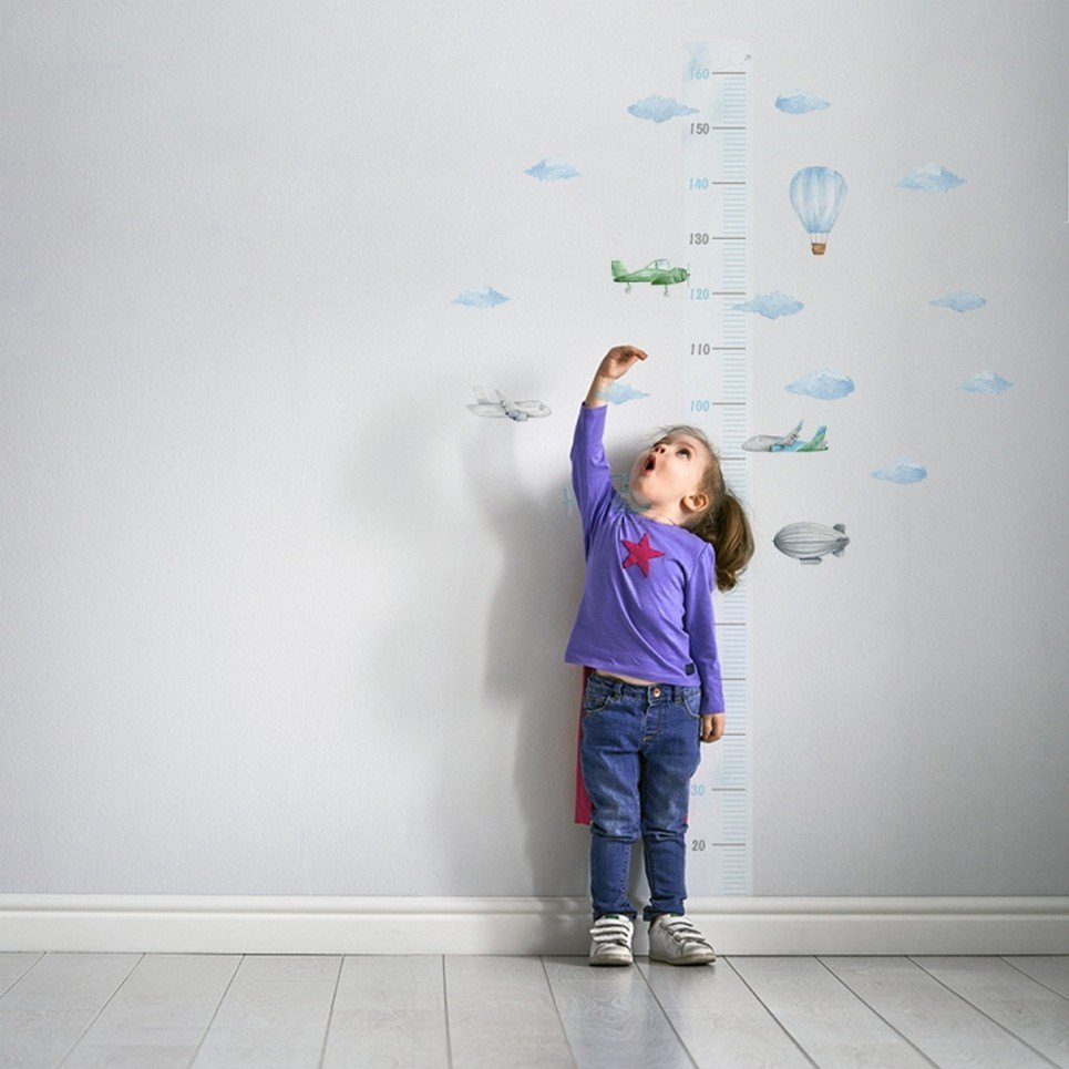 Airplanes in the Clouds Child Growth Chart
