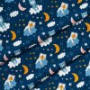 A perfect gift for a new baby, the Bears On Navy Waterproof Winding Mat is ideal for keeping the little one comfortable and snuggly while changing. Super practical and stylish with a waterproof lining and it comes in your favourite prints.