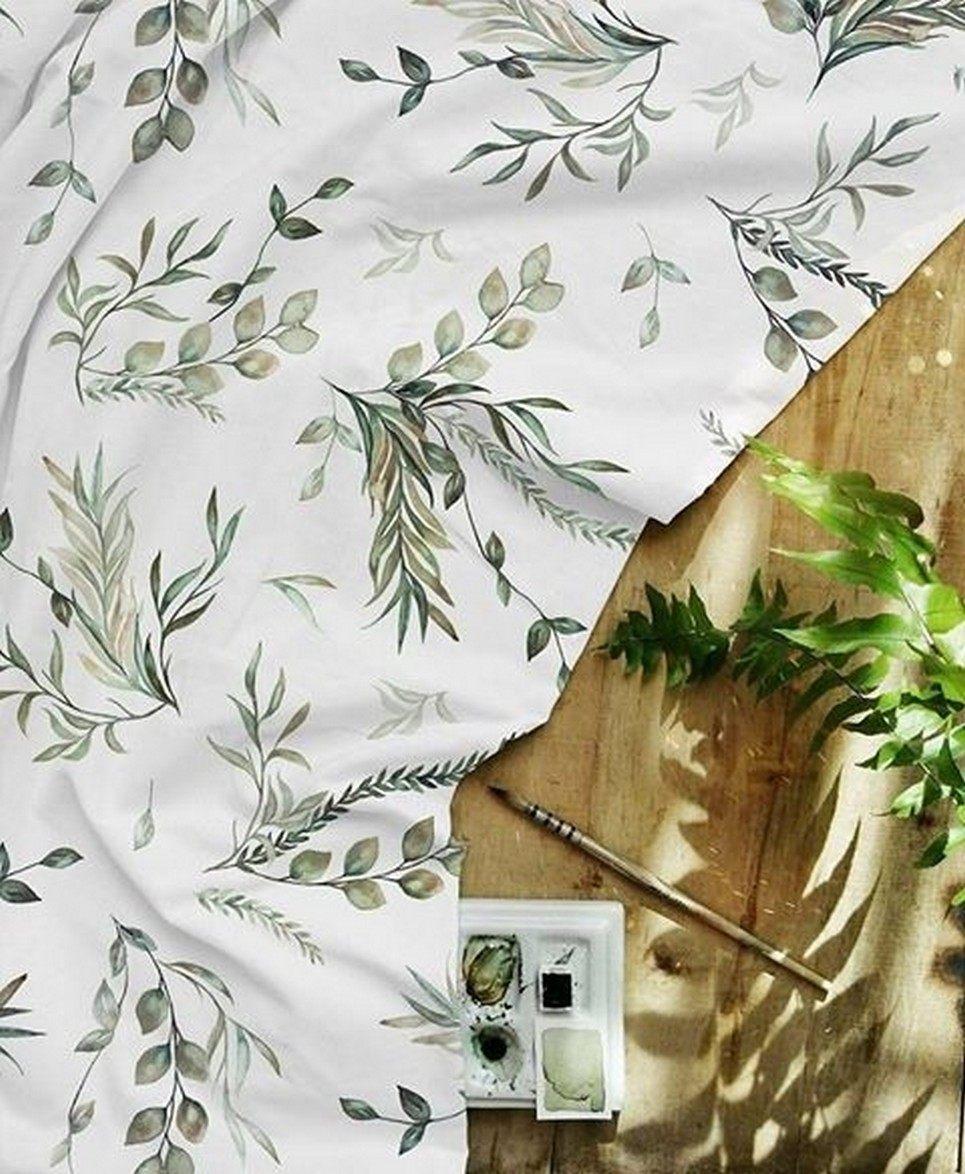 Green Leaves Waterproof Winding Mat