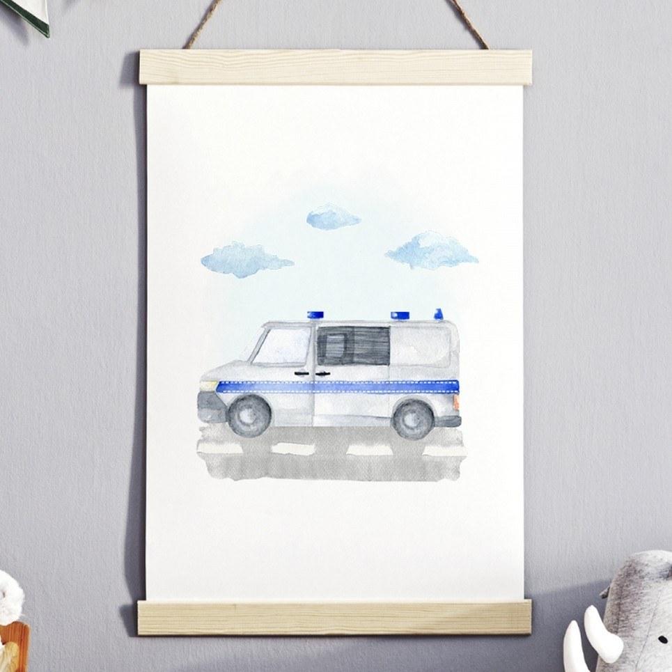 Police Children's Poster