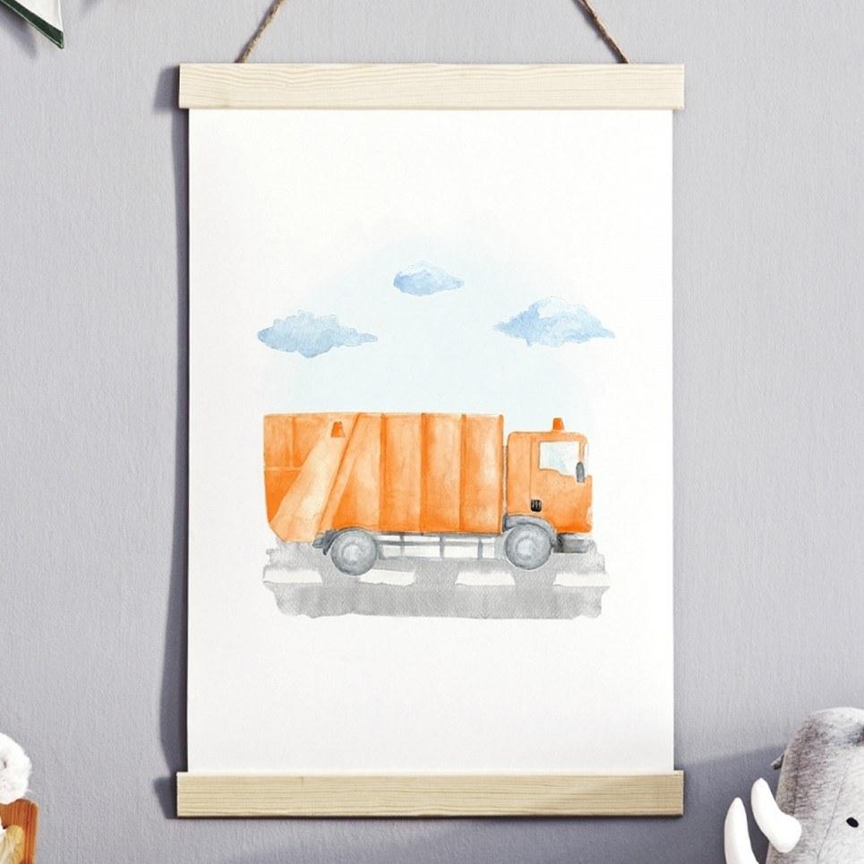 Trucker Children's Poster
