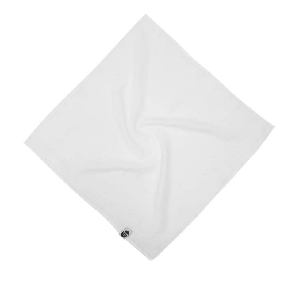 White Linen Baby Swaddle