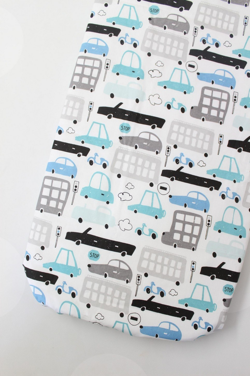 Cars Fitted Crib Sheet