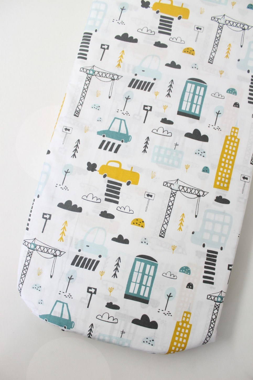 City Fitted Crib Sheet