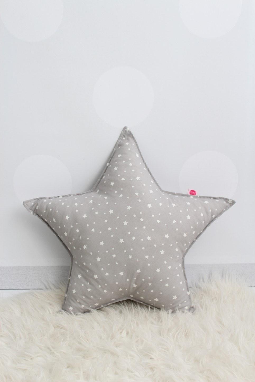 Grey Star Children's Cushion