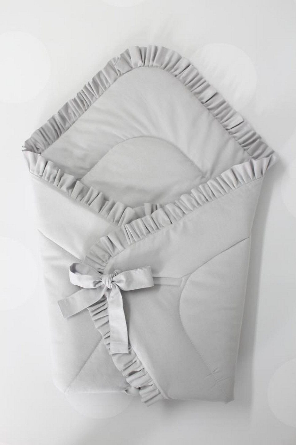 Light Gray Baby Horn Premium With a Frill