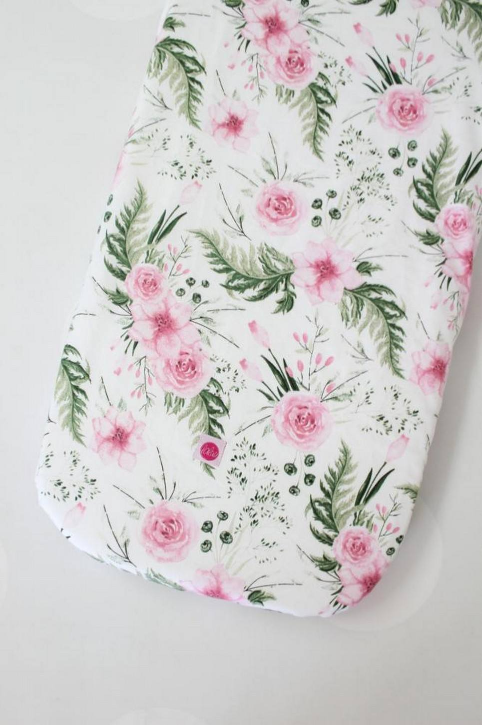 Peonies Fitted Crib Sheet