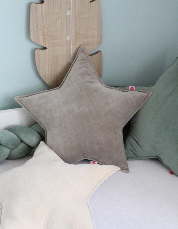 Perfect to bring the child inside everyone, the Zinc Star Children's Cushion will add that pop of colour into any kid's bedroom or nursery!