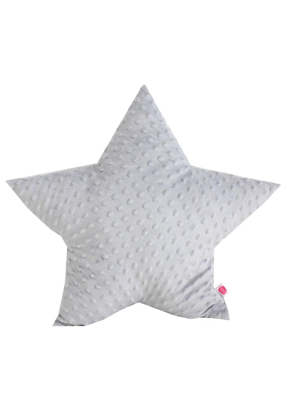 Grey Star Minky Children's Cushion