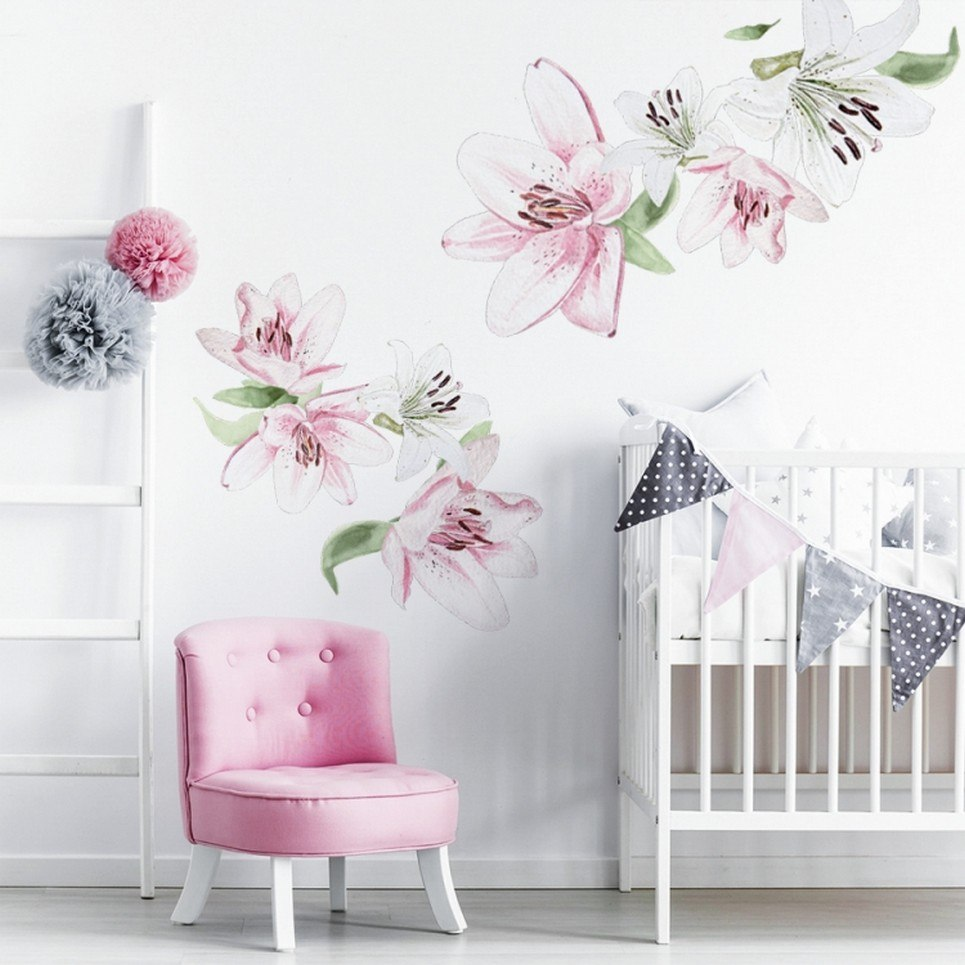 Little Lily Children's Wall Sticker