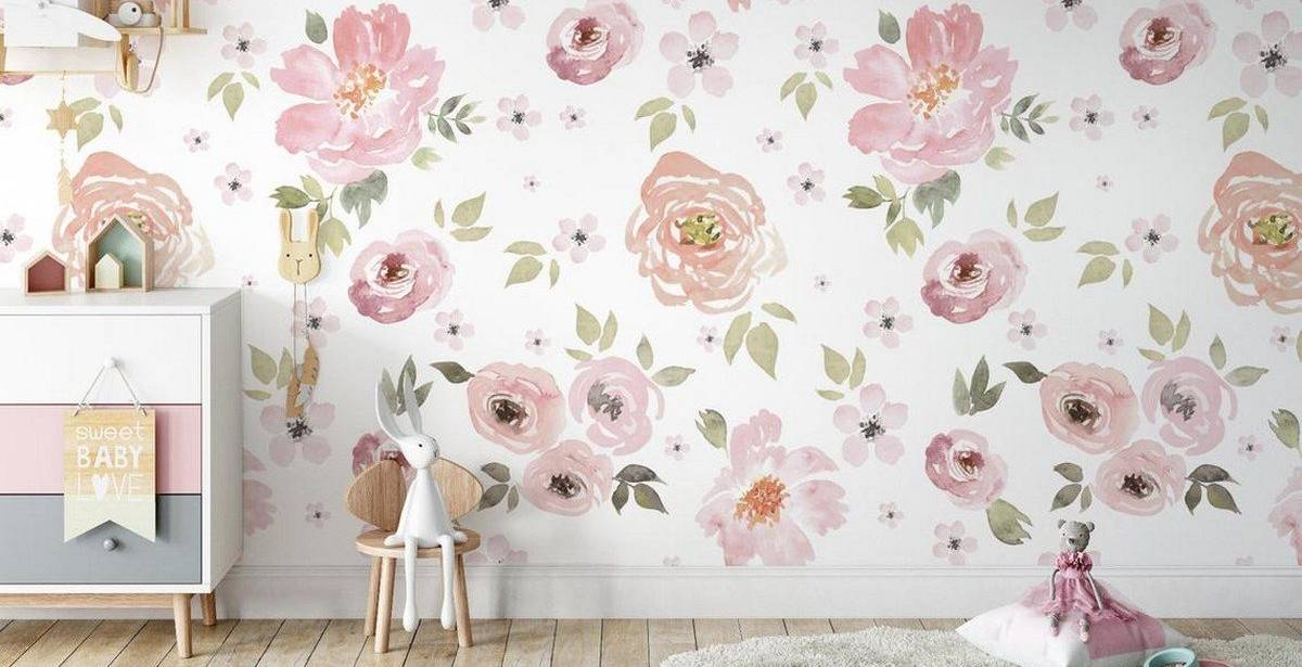 If you want to add character and beauty to your child's bedroom, a wall decal is an excellent decor option. Flower murals are among my favorite wall art options for a kid's bedroom.