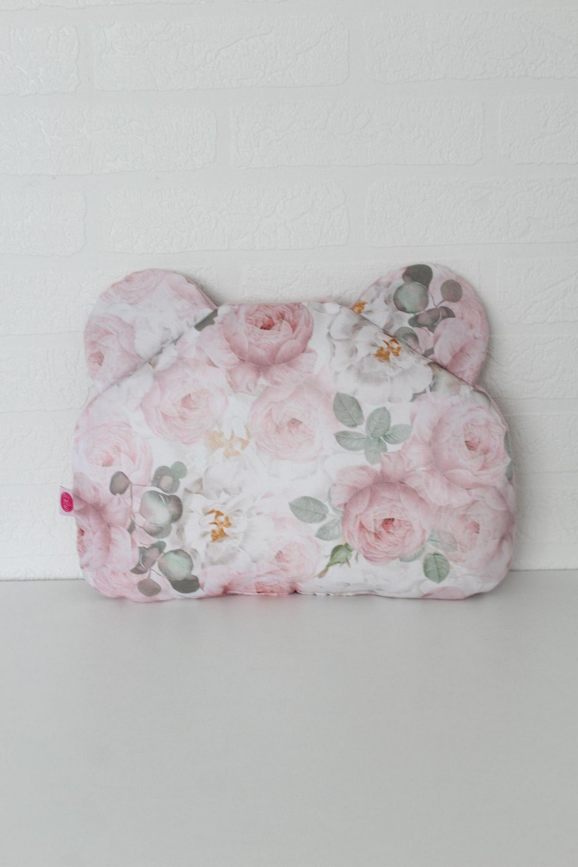 Peonie Teddy Bear Baby Pillow