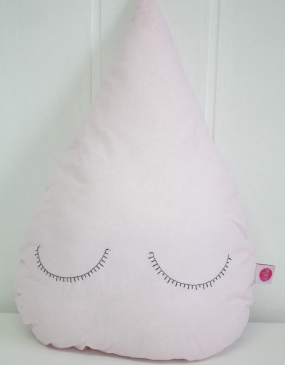 Perfect to bring the child inside everyone, the Pink Droplet Children's Cushion will add that pop of colour into any kid's bedroom or nursery!