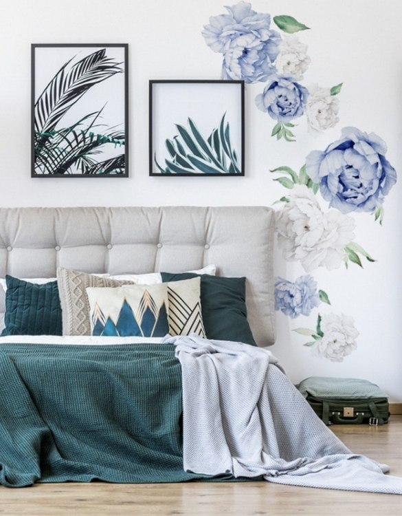 A beautiful scene for children's rooms and nurseries, the Small Navy Blue Peony Children's Wall Sticker is the perfect addition to any empty space (like walls or furniture). These wall stickers provide a flexible and cost-effective way to decorate your home.