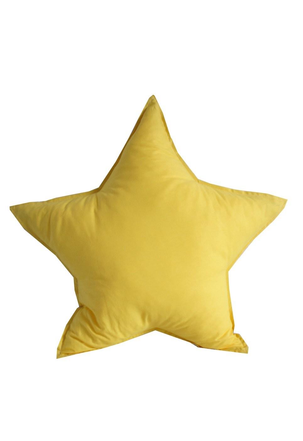 Yellow Star Children's Cushion