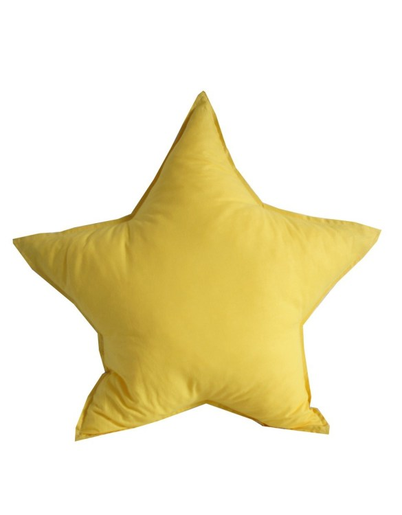 Perfect to bring the child inside everyone, the Yellow Star Children's Cushion will add that pop of colour into any kid's bedroom or nursery!