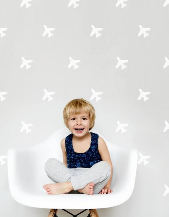 A beautiful scene for children's rooms and nurseries, the Airplanes Children's Wall Sticker is the perfect addition to any empty space (like walls or furniture). These wall stickers provide a flexible and cost-effective way to decorate your home.