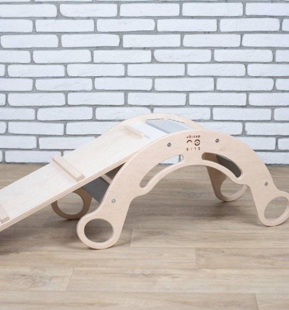 Rainbow for Boys Montessori Balance Board and Plank – 6