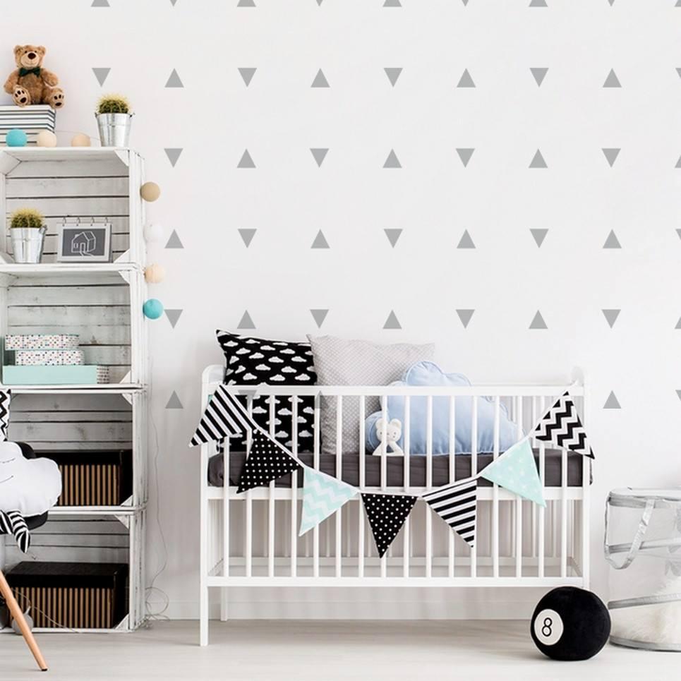 Triangles Children's Wall Sticker