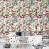 Sure to be adored by little ones, the Birds and Butterflies Children's Wallpaper is a fun addition to any nursery or playroom. Go on an adventure with our kid's wallpaper for children's rooms! A well-chosen pattern can visually enlarge the interior.