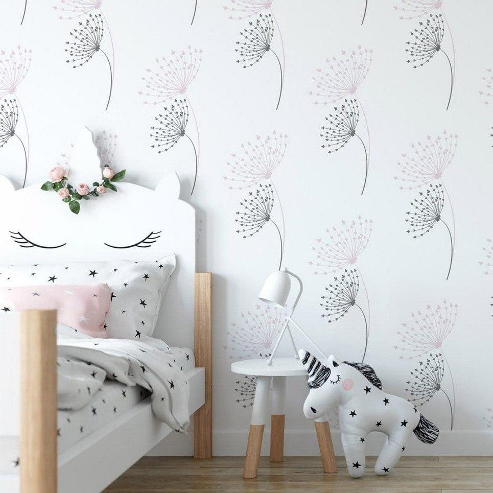 Dandelions Children's Wallpaper