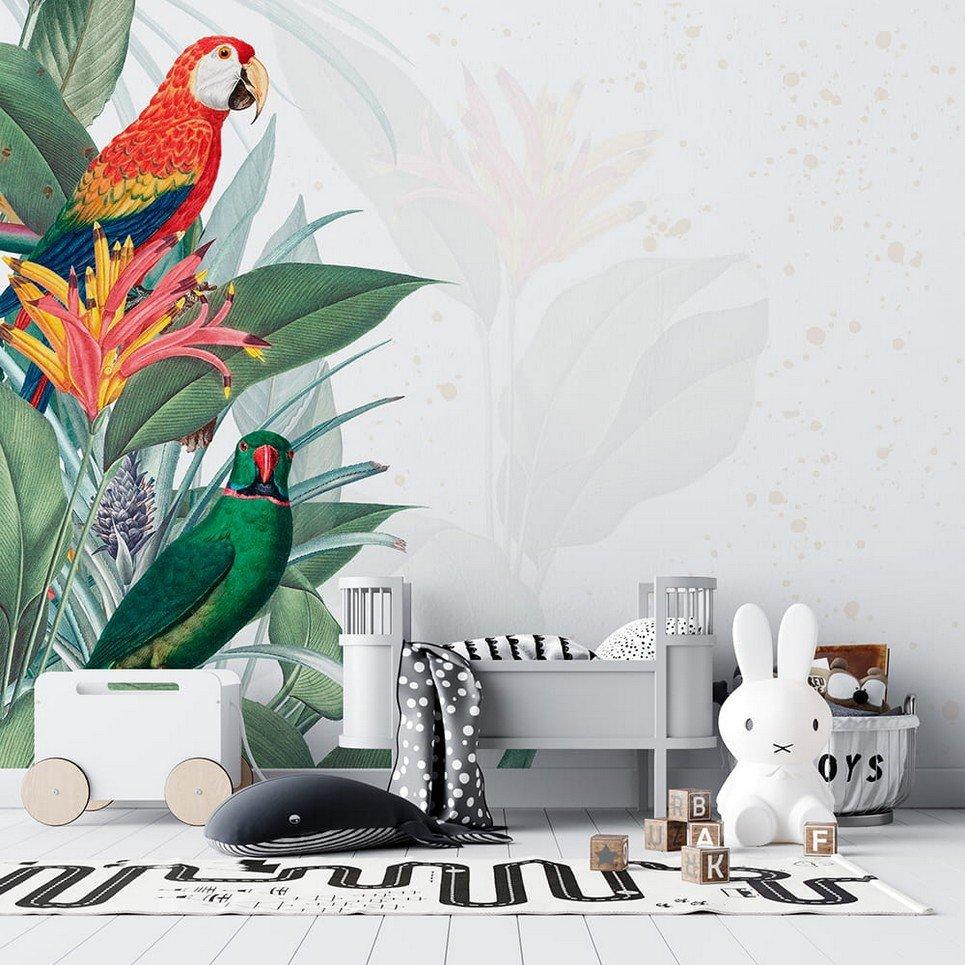 Parrot Children's Wallpaper