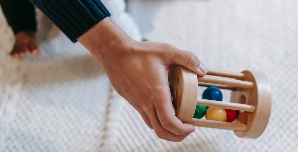 The majority of your little one's learning will come from play and exploration. Rattles are not just a source of entertainment for a baby to play with. Babies can learn several new skills from them.