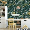 Sure to be adored by little ones, the Dinosaurs 13 Children's Wallpaper is a fun addition to any nursery or playroom. Go on an adventure with our kid's wallpaper for children's rooms! A well-chosen pattern can visually enlarge the interior.
