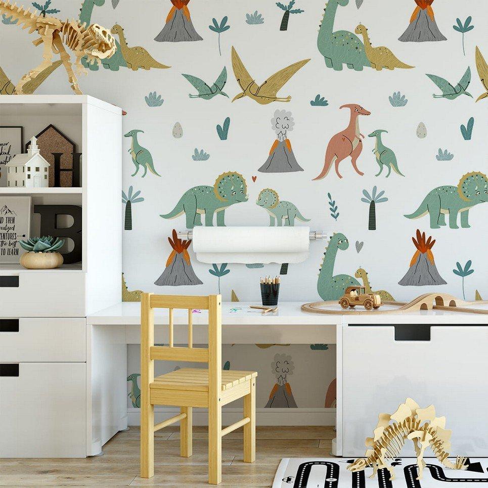 Dinosaurs 7 Children's Wallpaper