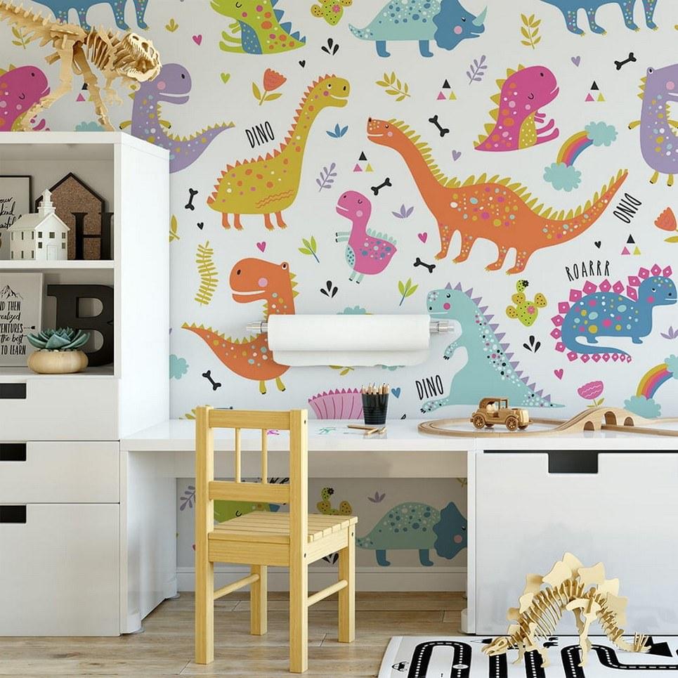 Dinosaurs 9 Children's Wallpaper