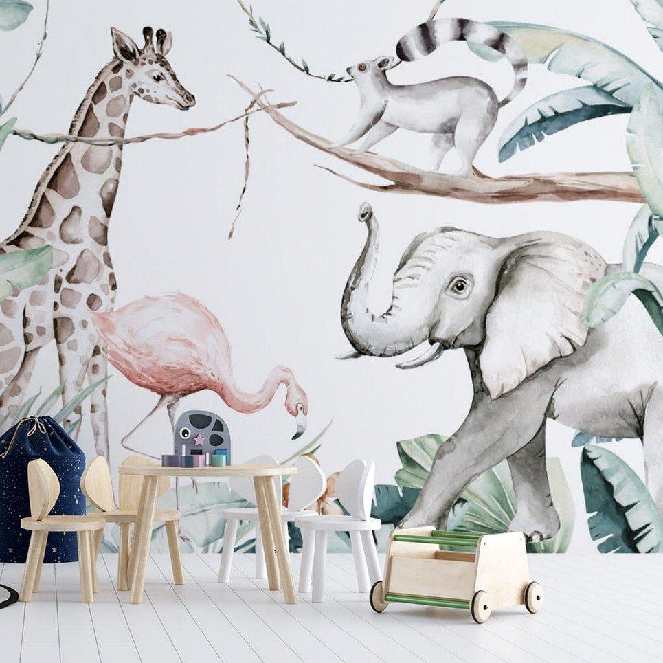 Jungle and Friends 11 Children's Wallpaper