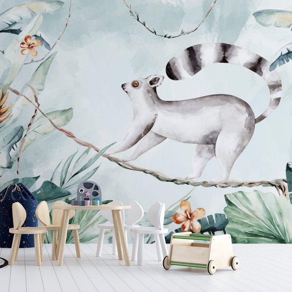 Jungle and Friends 13 Children's Wallpaper