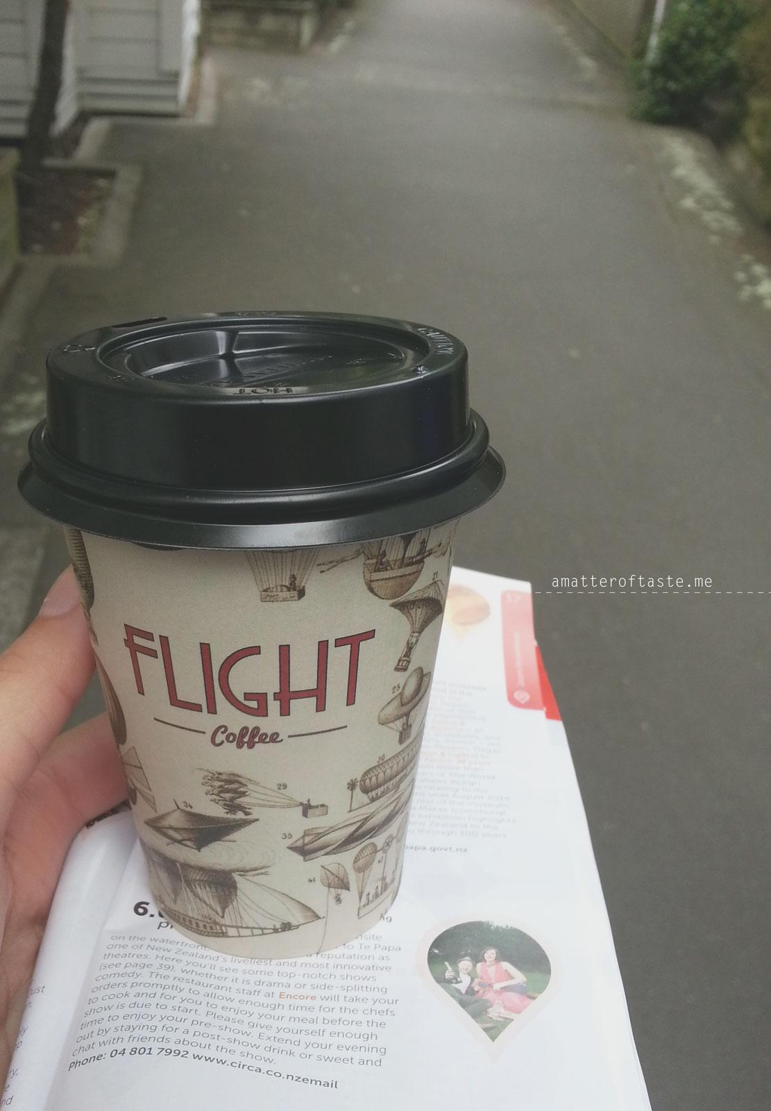 Flight Coffee the best in Wellington
