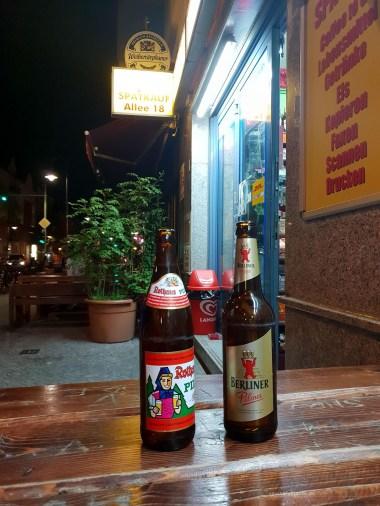 Berlin Spati beers