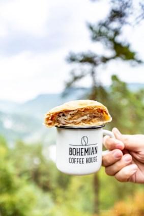 Bohemian Switzerland Northern Hikes day trip from Prague coffee cake strudel