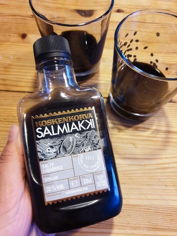 Dark drinks of Finland koskenkorva